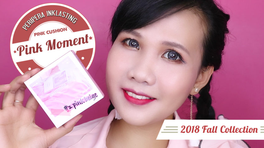 PERIPERA FALL COLLECTION 2018 – PINK MOMENT 1