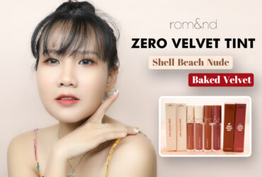 ROMAND ZERO VELVET TINT 2020 - SHELL BEACH & BAKED VELVET COLLECTION 6