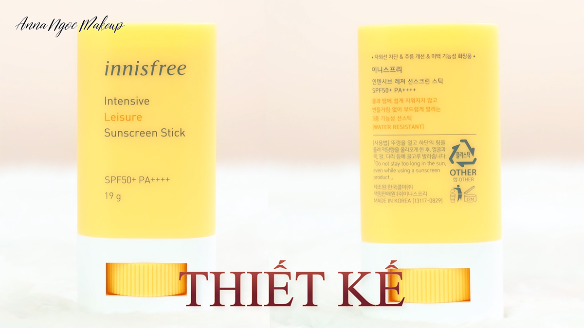 Chống Nắng Dạng Thỏi Innisfree Intensive Leisure Sunscreen Stick SPF50+/PA++++ 6