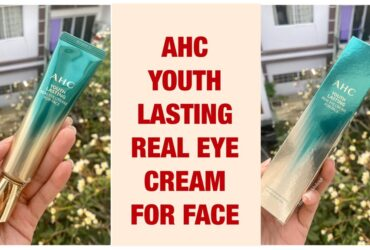 KEM DƯỠNG MẮT AHC YOUTH LASTING REAL EYE CREAM FOR FACE (New 2020) 12